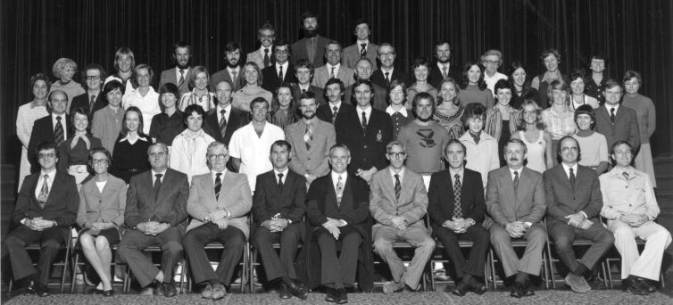 Westville Boys High staff 1977: Back Row: B.O. Smith, B. Brown, Roger V. A. Owen